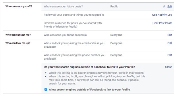 How to Set Privacy Settings for a Facebook Business Page
