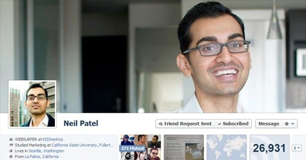 Facebook Profile for Business