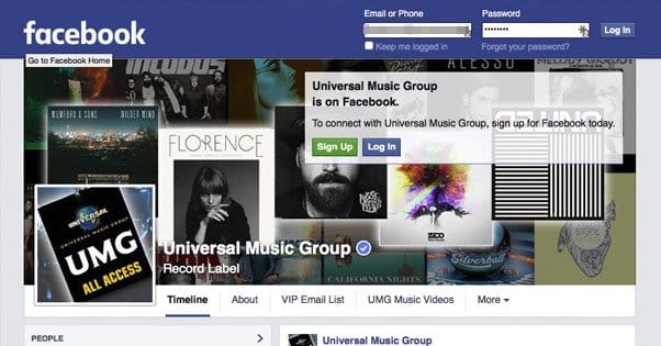 How Bands Get Signed to a Record Label With Facebook