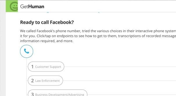 How to Contact Facebook Through Email and Phone
