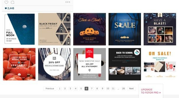 The Grand List Of 50 Instagram Templates And Downloads