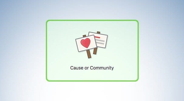 Cause or Community Category