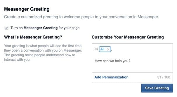 How to Automatically Send a Message to New Facebook Fans
