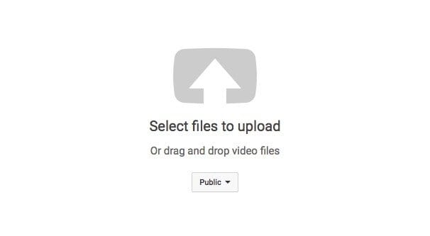 Select Videos to Upload