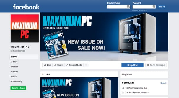 Maximum PC Page