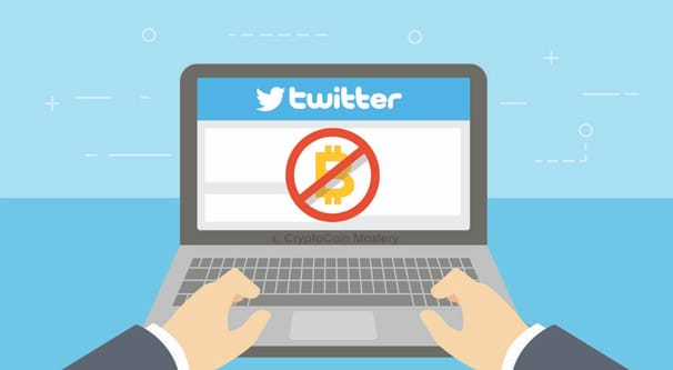 Twitter Bans Crypto