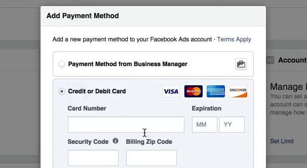 Automatic Billing Methods