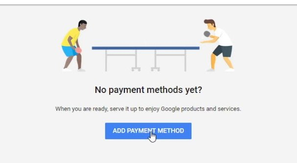 Adding a Payment Method to Google Ads