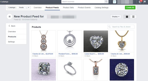 Facebook Catalog Product Manager
