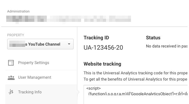 Example Tracking ID