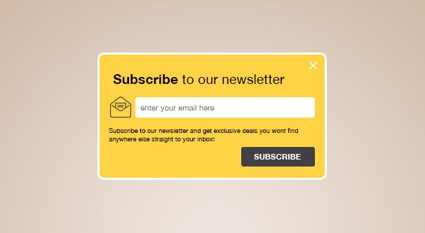Newsletter Signup Illustration