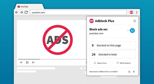 AdBlockPlus in a Browser