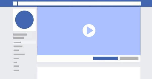 Video on Facebook Cover